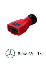MaxiSYS Pro - Переходник Mercedes Benz CV 14