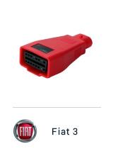 MaxiSYS Pro - Переходник Fiat 3